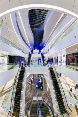 KW01166 Kuwait, Kuwait City, Al Hamra Tower, completed in 2011 includes a luxury business and shopping center