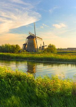 NL02240 Netherlands, South Holland, Kinderdijk (UNESCO World Heritage Site)