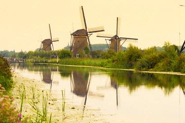 NL02241 Netherlands, South Holland, Kinderdijk (UNESCO World Heritage Site)
