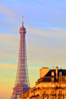 FR20029 Eiffel Tower, Paris, France, Western Europe.