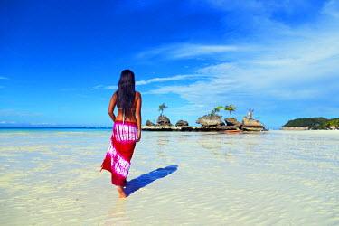PHI1148 South East Asia, Philippines, The Visayas, Boracay, White Beach