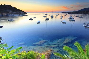 ITA2536AW Italy, Italia. Tuscany, Toscana Livorno district. Tuscan Archipelago National Park. Elba island. Porto Azzurro.