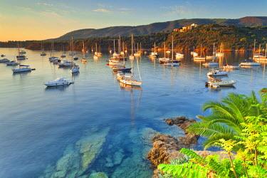 ITA2538AW Italy, Italia. Tuscany, Toscana Livorno district. Tuscan Archipelago National Park. Elba island. Porto Azzurro.
