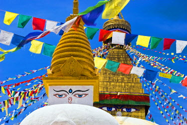 NEP1910AW Boudhanath stupa, Kathmandu, Nepal