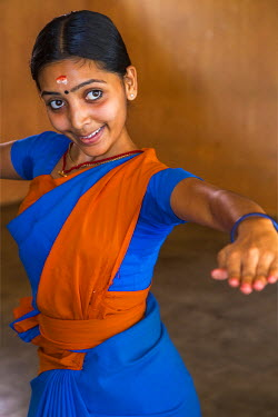 IN04345 Traditional Indian dance lesson, Cohin, Kerala, India