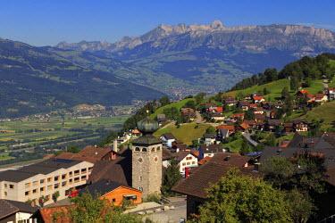 LC01005 Liechtenstein, Steg Village, Triesen town