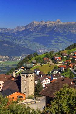 LC01006 Liechtenstein, Steg Village, Triesen town