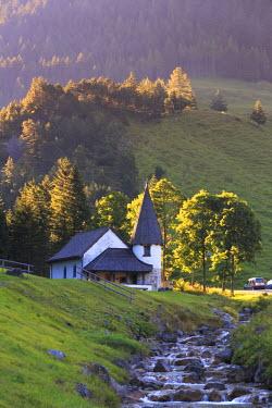 LC01008 Liechtenstein, Steg Village