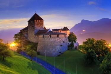 LC01009 Liechtenstein, Vaduz, Vaduz Castle (Schloss Vaduz)
