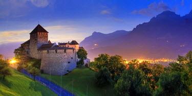 LC01010 Liechtenstein, Vaduz, Vaduz Castle (Schloss Vaduz)