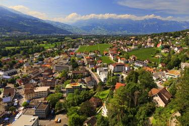 LC01011 Liechtenstein, Vaduz, Vaduz Castle (Schloss Vaduz)