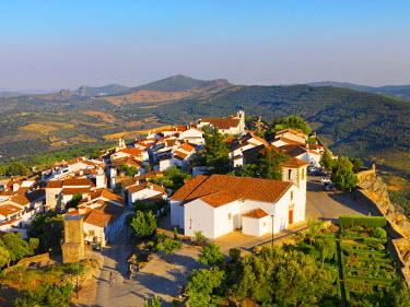 POR7597AW Portugal, Alentejo, Marvao, Medieval village