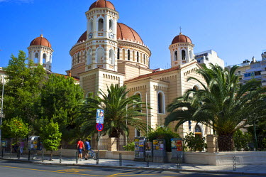 Greece, Macedonia, Thessaloniki, the Cathedral of Saint Gregory Palamas