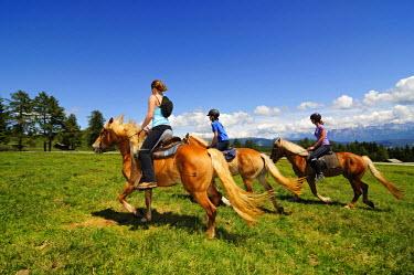 ITA2963AW Horse Riding, Jenesien, Bolzano, South Tyrol, Italy (MR)