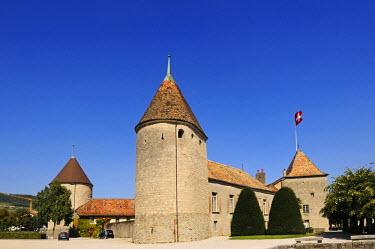 SWI7435AW Chateau de Rolle, Lausanne, Lake Geneva, Switzerland