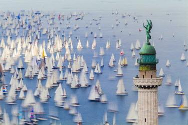 FVG003062 Italy, Friuli Venezia Giulia, Barcolana, the historic sailing regatta in Trieste