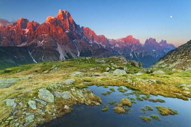 FVG006144 Italy, Dolomites, Trentino Alto Adige, Pale di San Martino mountains