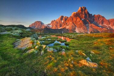 FVG006145 Italy, Dolomites, Trentino Alto Adige, Pale di San Martino mountains