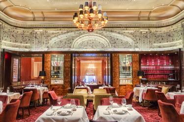 USA9237AW USA, New York, New York City, St Regis hotel, restaurant