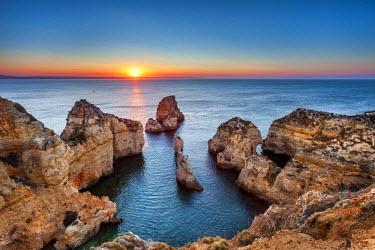 POR7827AW Sunrise, Ponta de Piedade, Lagos, Algarve, Portugal