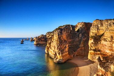 POR7846AW Beach, Praia Dona Ana, Lagos, Algarve, Portugal
