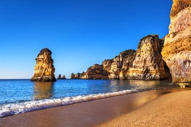 POR7847AW Beach, Praia Dona Ana, Lagos, Algarve, Portugal