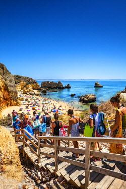 POR7848AW Beach, Praia Dona Ana, Lagos, Algarve, Portugal