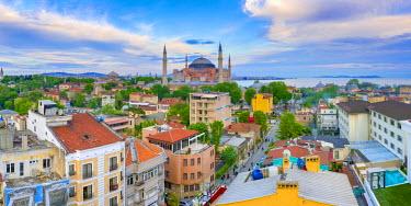 TK01587 Turkey, Istanbul, Sultanahmet, Hagia Sophia (Ayasofya)
