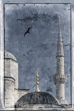 TK01614 Turkey, Istanbul, Sultanahmet, The Blue Mosque (Sultan Ahmed Mosque or Sultan Ahmet Camii)