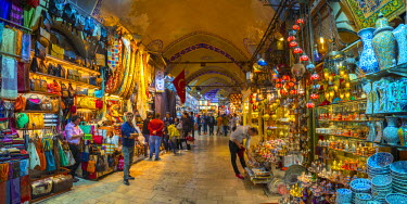 TK01623 Turkey, Istanbul, Sultanahmet, Grand Bazaar (Kapalicarsi)