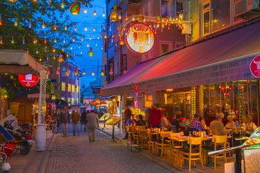 TK01633 Turkey, Istanbul, Sultanahmet, Cafes