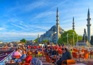 TK01635 Turkey, Istanbul, Suleymaniye Mosque (Suleymaniye Camii)