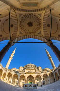TK01638 Turkey, Istanbul, Suleymaniye Mosque (Suleymaniye Camii)