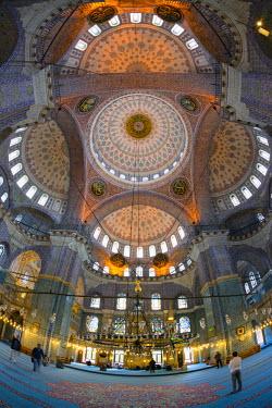 TK01642 Turkey, Istanbul, New Mosque (Yeni Camii)