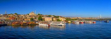 TK01650 Turkey, Istanbul, Sultanahmet, The Golden Horn, Suleymaniye Mosque
