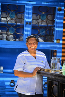 MEX1447AW Mexican Maid, Rancho Pescadero, Baja California, Mexico