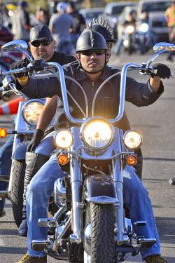 USA9263AW Bike Week, Cave Creek near Scottsdale, Arizona, USA Model release