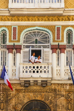 CB01534 Cuba, Havana, The Hotel Sevilla, The hotel was featured in Graham Greene's novel Our Man in Havana,  known as The Sevilla Biltmore before the Revolution - was one of the establishments owned and run b...