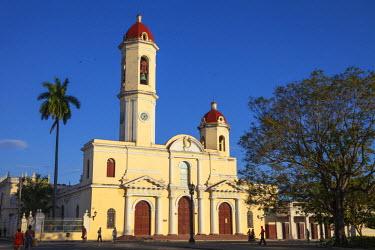 CB02066 Cuba, Cienfuegos, Parque Mart�, Catedral  de la Purisima Concepcion - Cathedral of the Most Pure Conception