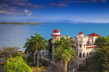 CB02078 Cuba, Cienfuegos, Punta Gorda, Palacio de Valle�- now a restaurant , museum and bar