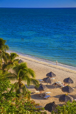 CB02240 Cuba, Trinidad, Peninsula Ancon, View of Ancon beach
