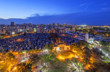 ARG1933 La Recoleta Cemetery is a cemetery located in the Recoleta neighbourhood of Buenos Aires. It contains the graves of notable people, including Eva Per�n, presidents of Argentina, Nobel Prize winners, t...