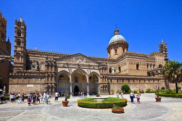 HMS0487948 Italy, Sicily, Palermo, the cathedral of Our Lady of the Assumption (1169-1190)