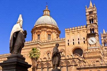 HMS0393628 Italy, Sicily, Palermo, cathedral of Our Lady of the Assumption