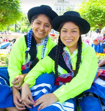 PU01094 Peru, Lima, San Martin Square, Ayacuchano Carnival, Ayacucho Region, Traditional Festival