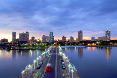 US11687 Florida, Saint Petersburg, Skyline, Tampa Bay, Pier, Pinellas County