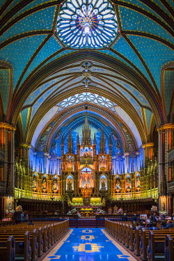 CA04137 Canada, Quebec, Montreal, Basilica of Notre Dame