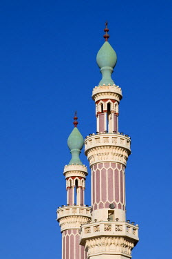AF55CCE0402 Tripoli, Libya. Minarets of Moulay Ismail Mosque.
