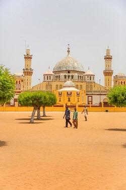 AF38CCE0360 Senegal, Diourbel (Djourbel). The main mosque, completed 1919.