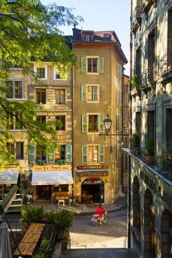 CH03680 Old Town, Geneva, Switzerland